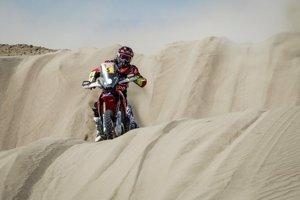 Barreda abandona el Dakar tras volver a perderse en la undécima etapa