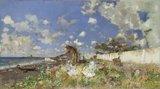 El Meadows Museum adquiere 'Playa de Portici', el último cuadro de Fortuny