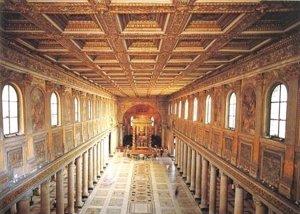 Los Reyes eméritos inauguran la iluminación de la Basílica de Santa María la Mayor, en Roma