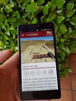 Una 'app' da a conocer el yacimiento de Los Bañales de Uncastillo  (Zaragoza)