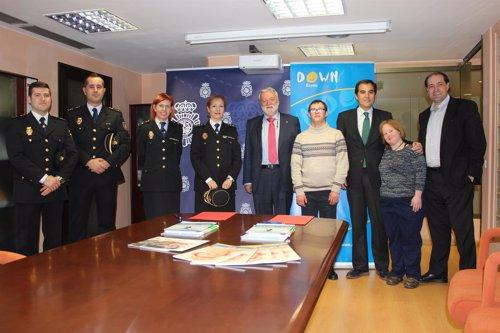 El ministerio del interior y down espa a colaboran para for Ministerio del interior spain
