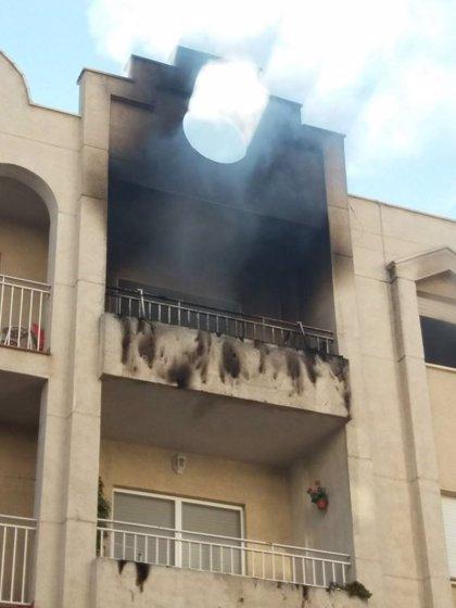 Fallece un bebé de seis meses en el incendio de una vivienda en Albolote (Granada)