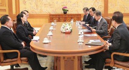 Corea del Sur se centrará en nuevas conversaciones intercoreanas después de los JJOO de Invierno