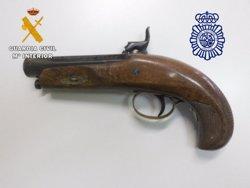 Detenido en Salamanca por atracar en varios hoteles de Ávila con una pistola antigua