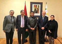 García Casas se reúne con el ministro de Exteriores de Bolivia para planificar