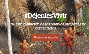 Los actores Wagner Moura, Gillian Anderson y Leticia Sabatella lanzan '#DéjenlesVivir' por las tribus no contactadas