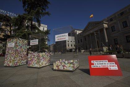 Save The Children denuncia frente al Congreso de que la pobreza infantil en España aumenta y se agrava