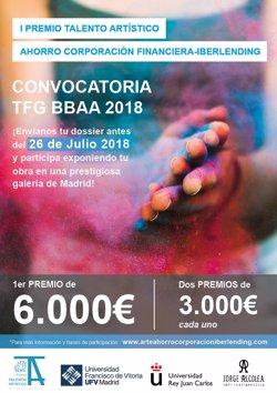 Ahorro Corporación Financiera y ACF Iberlending lanzan el I Premio Talento Artístico