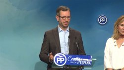 Maroto (PP) recuerda a Cs que si Puigdemont no es presidente es gracias a los recursos de Rajoy ante el TC