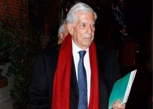 Mario Vargas Llosa se reencuentra con su ex mujer Patricia Llosa