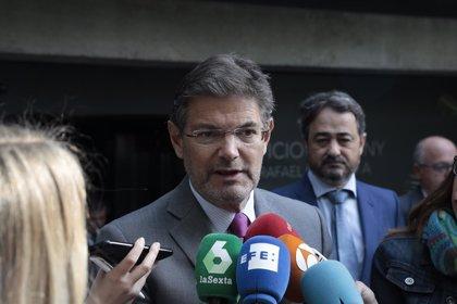 Catalá apuesta por fomentar la visión de género en la Justicia tras 'La Manada' porque queda