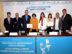 La Fundación Idis entrega sus segundos premios de periodismo 'Quality Healthcare', que premian la divulgación en salud