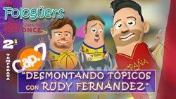 Rudy Fernández colabora con 'On Fologüers' para visibilizar el baloncesto en silla de ruedas