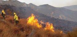El fuego arrasa 8.643 hectáreas en los cinco primeros meses de 2018, casi un 80% menos que hace un año