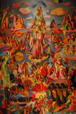 El Instituto Cervantes de Nueva York acoge la exposición 'Ochoa+Lorca: Plástica Musical' hasta el 14 de julio