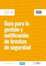 Protección de Datos lanza una guía para gestionar y notificar las quiebras de seguridad según el Reglamento europeo