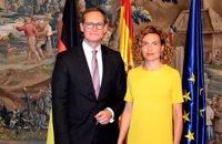 Batet aborda con el presidente del Bundesrat la situación de Cataluña y la acogida del Aquarius