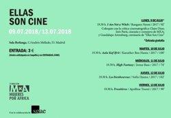 La Sala Berlanga de Madrid acoge la VI edición del ciclo de cine africano 'Ellas son cine', hasta el 13 de julio