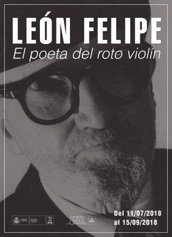 La Biblioteca Nacional de España homenajea al poeta León Felipe en el 50 aniversario de su muerte