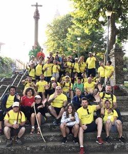 Voluntarios OHL acompañarán a jóvenes de Down Madrid en el Camino de Santiago