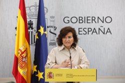 Carmen Calvo pide a las víctimas de violencia machista que acudan a su ayuntamiento
