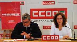 CCOO-A pide a Robles que transmita