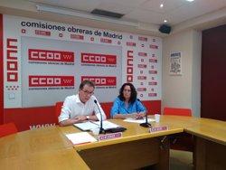 La exdirectora del máster de Montón en la URJC se dio de baja de CCOO para evitar la apertura de un expediente