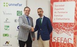 Sefac y Unnefar acuerdan trabajar juntos en el desarrollo y mejora asistencial de la farmacia comunitaria