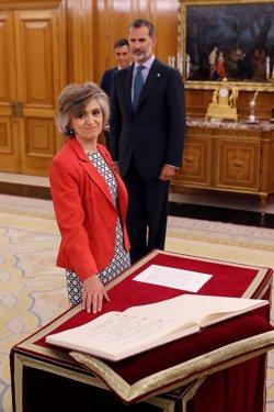 María Luisa Carcedo promete su cargo como nueva ministra de Sanidad, Consumo y Bienestar Social