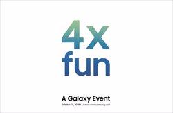Samsung presentará un dispositivo móvil Galaxy el 11 de octubre