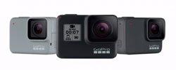 GoPro presenta sus nuevas cámaras de acción HERO7, con modelos para usuarios de nivel medio y básico
