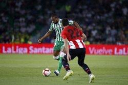 (Crónica) El Sevilla recupera el tono con goles y el Betis remonta a medias ante el Athletic