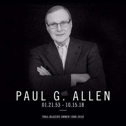 Fallece Paul Allen, dueño de Portland Trail Blazers y cofundador de Microsoft