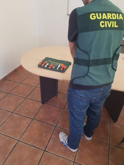Detenido en Martos (Jaén) un joven conduciendo drogado, sin carné y portando cocaína, heroína y marihuana
