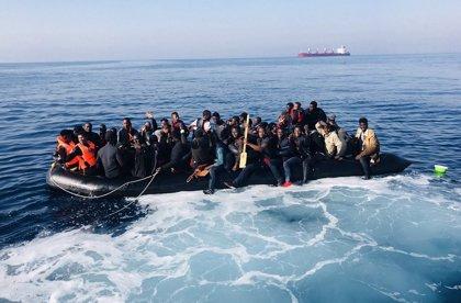 Ascienden a 536 los rescatados en el Estrecho y en el Mar de Alborán de 13 pateras este lunes