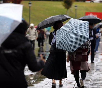 La semana estará marcada por el paso un frente el martes y otro el jueves que dejarán lluvias y bajarán los termómetros