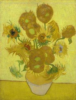 'Los girasoles', de Van Gogh, serán restaurados durante las próximas seis semanas