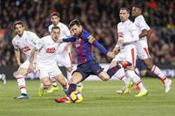 Los partidos del F.C. Barcelona, los más vistos con 996.579 espectadores de media en cada encuentro de LaLiga
