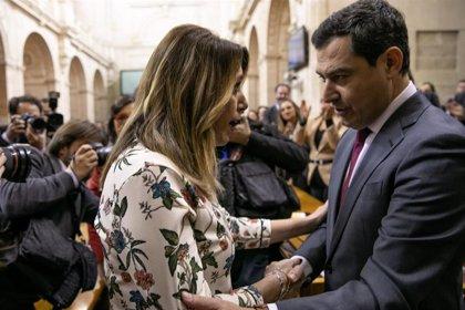 El BOE y el BOJA publican el nombramiento de Juanma Moreno como presidente de la Junta y el cese de Susana Díaz
