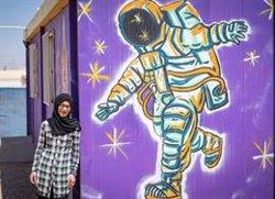 Bodoor, refugiada siria, sueña con ser astronauta: