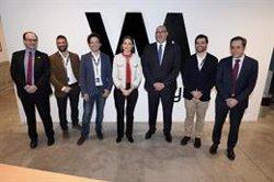 Reyes Maroto visita las instalaciones de la aceleradora de startups de Telefónica