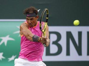 Nadal acude mermado a la cita con Federer en Indian Wells