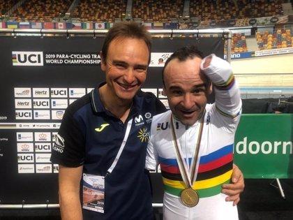 Ricardo Ten se cuelga su segunda medalla de oro en el Mundial adaptado de Apeldoorn