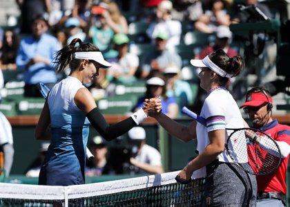 Muguruza asciende a la decimoséptima plaza del ranking WTA y Andreescu sube 36 plazas tras ganar en Indian Wells
