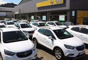 AME renueva su flota de vehículos con 55 modelos Opel de GLP