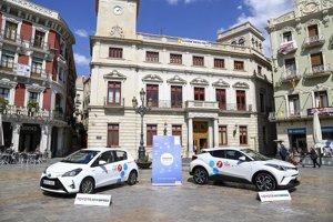 Toyota entra en el negocio del 'car sharing' corporativo con una prueba piloto en Reus (Tarragona)