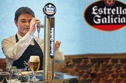 Un hostelero gallego de 20 años, ganador del VI Campeonato de Tiraje de Cerveza de Estrella Galicia