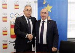 El COE y la FEMP colaborarán para difundir los valores olímpicos a nivel municipal