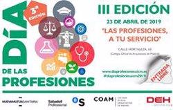Colegios profesionales celebran hoy el Día de las Profesiones para analizar el futuro del mercado laboral