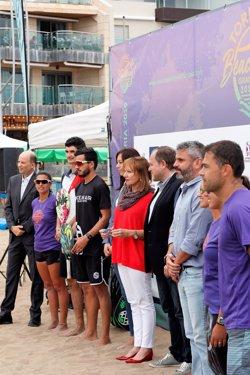 Arranca el ITF Gran Canaria 2019 con un tenis playa isleño